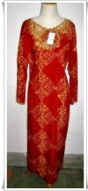 Grosir Long Dress Jumbo Bordir (20 pcs)
